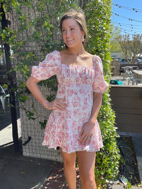 Love Story Multi Mini Dress