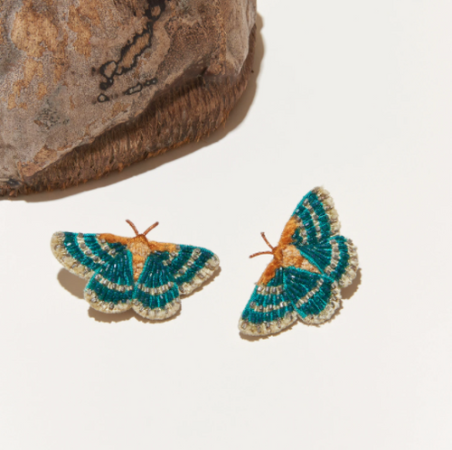 Butterfly Stud in Turquoise