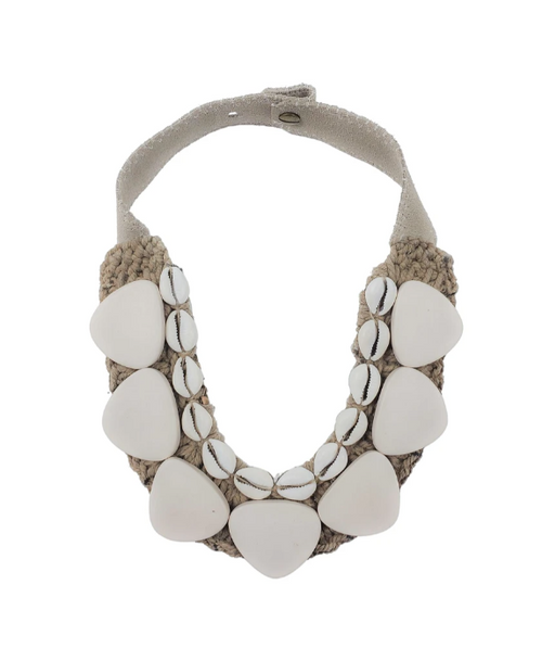 Classic Cowrie Collar Necklace