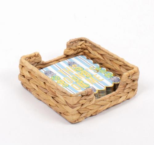 Natural Woven Napkin Tray