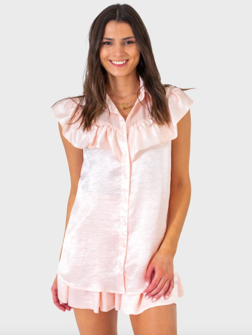 Layla Top in Pink Pearl
