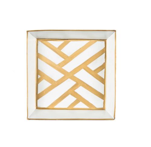 Newport Gold Napkin Tray