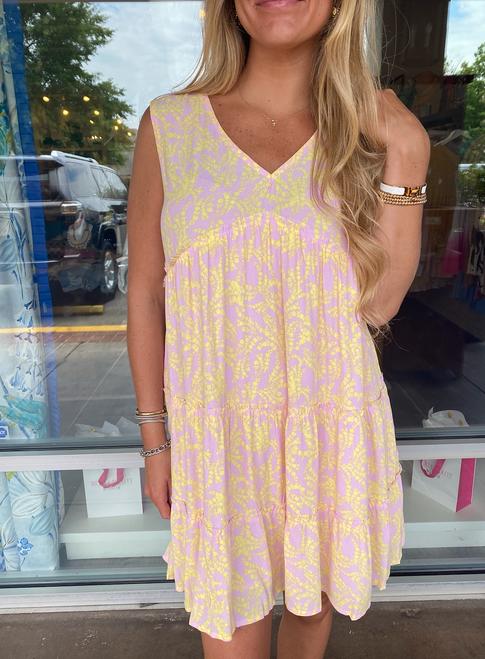 Lemonade Sleeveless Dress