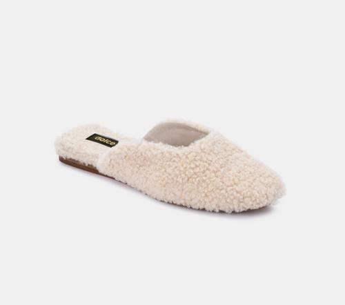 Saydee Slippers in Natural Plush