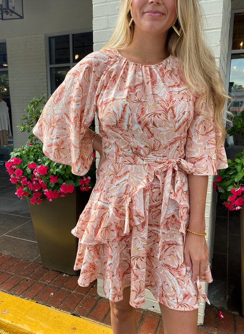 Pink Sands Mini Dress