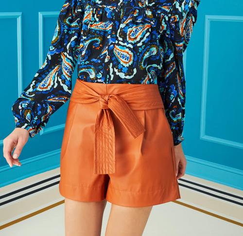 Sienna Pixie Vegan Leather Short