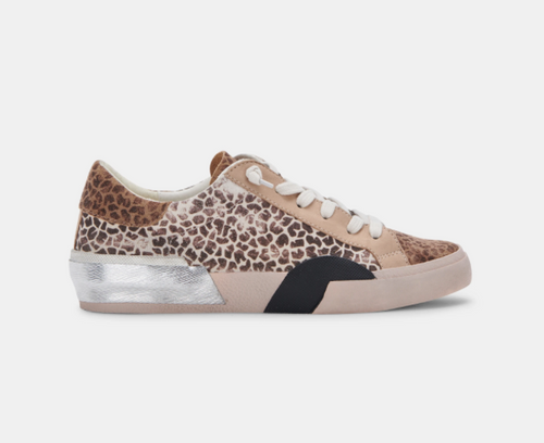 Zina Sneakers in Leopard Multi Dusted