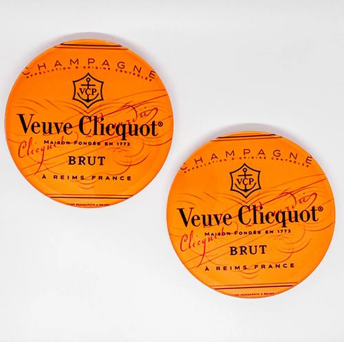 Pop The Veuve Bubbly Coaster