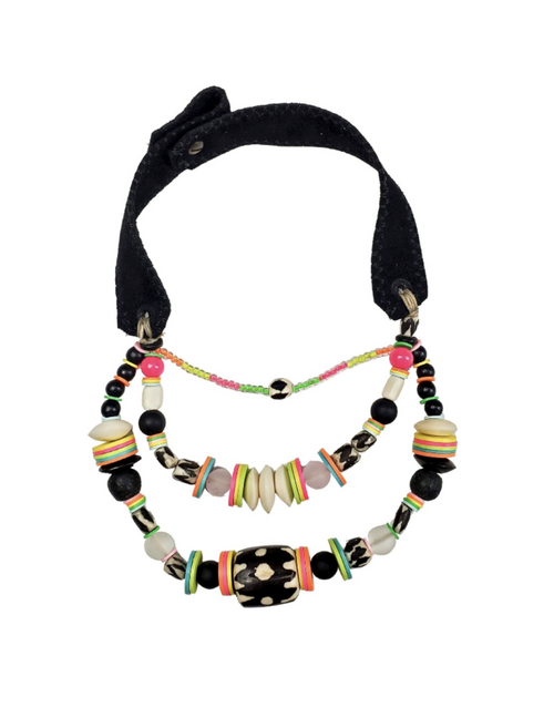 Electric Layered Classic Necklace