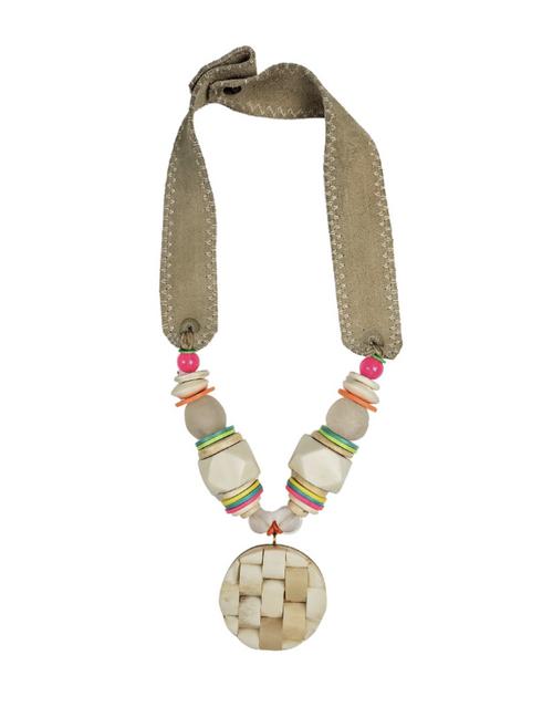 Electric Mid Pendant Necklace
