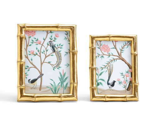 Faux Bamboo Frame 4 x 6