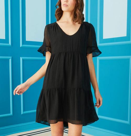 Vanessa Dress in Black