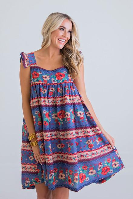 Eppie Dress in Multi