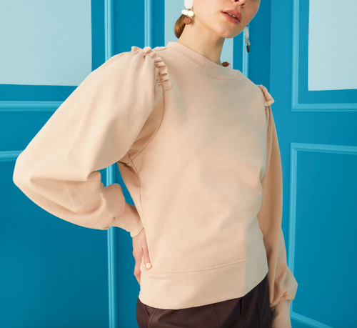 Cappie Pullover in Rose Dust