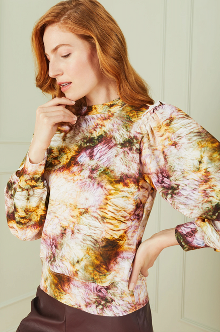 Cappie Pullover in Earth Dye