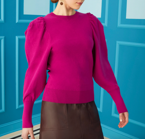 Haven Pullover in Mulberry