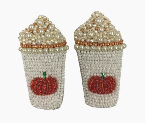 Pumpkin Spice Latte Earring