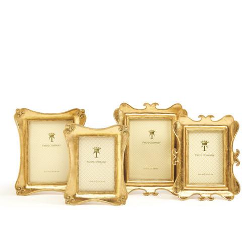 Gold Leaf Frame Ornate 5x7