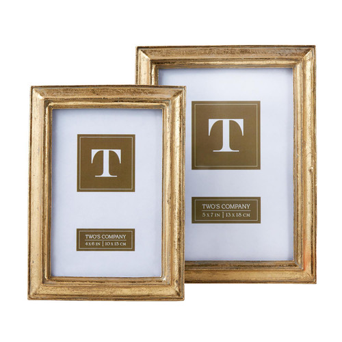 Gold Leaf Frame Simple 5x7