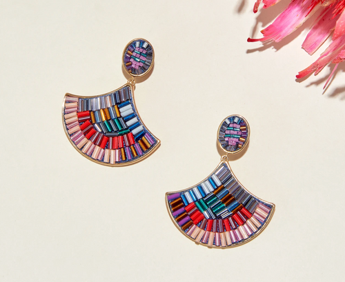 Najlah Earrings in Multi