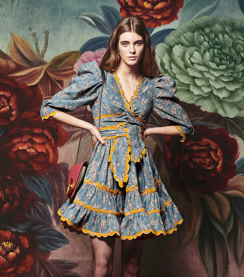 Maguay Dress in Courderoy