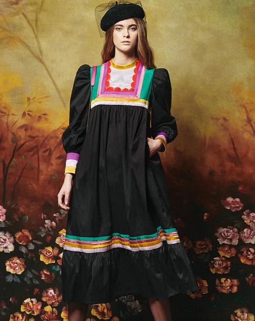 Teca Dress in Black