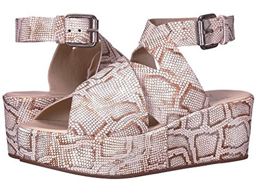 Matisse Runaway Metallic Snake Wedge