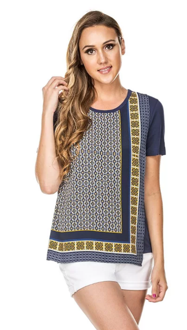 Front Wrap Tee