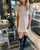 Solid Pleather Puff Sleeve Dress