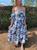Millie Floral Printed Short Sleeve Dress