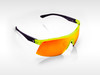 Sunglasses SPEED Gruppo Green - Red Mirror