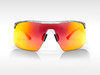Sunglasses SPEED Gruppo Transparent - Red Mirror
