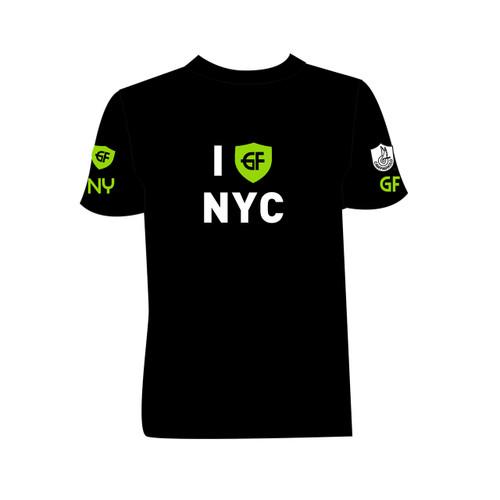 """T-shirt """"I GFNY NYC"""""""
