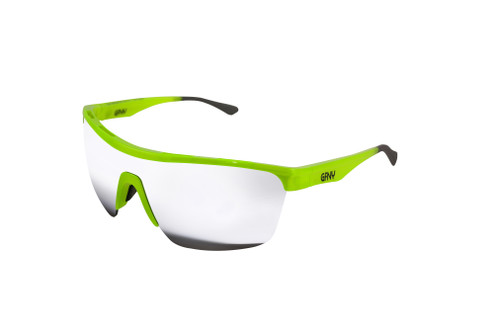 Sunglasses SPEED Green - Silver Mirror