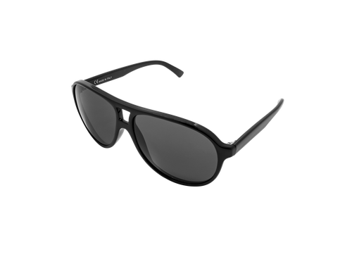 Sunglasses Riviera Casual Black - black lenses