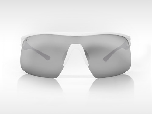 Sunglasses SPEED Gruppo White - Silver Mirror