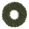 """C-4384 60"""" Virginia Pine Wreath 400 LED Lights"""