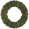 """C-4394 - Shaped Version 72"""" Virginia Pine Wreath with 600 LED Lights"""