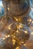 Light wire crab cluster lights in vase