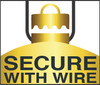 Secured with Wire technology