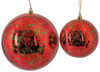 """J-180906 / J-180916 - Red & Green 4"""" and 6"""" Red with Green Sequins"""