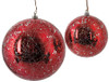 """J-180901 / J-180911  - Red & Solver 4"""" and 6"""" Red with Silver Sequins"""