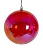 "J-200340 - 6"" Iridescent Red Ball"