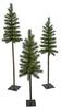 PVC Pine Trees - 5', 6', and 7' Tall