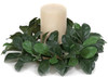 """CR-70050 - Fire Retardant 10"""" Dia Laurel Candle Ring 5"""" Inside Diameter Candle Sold Separately"""