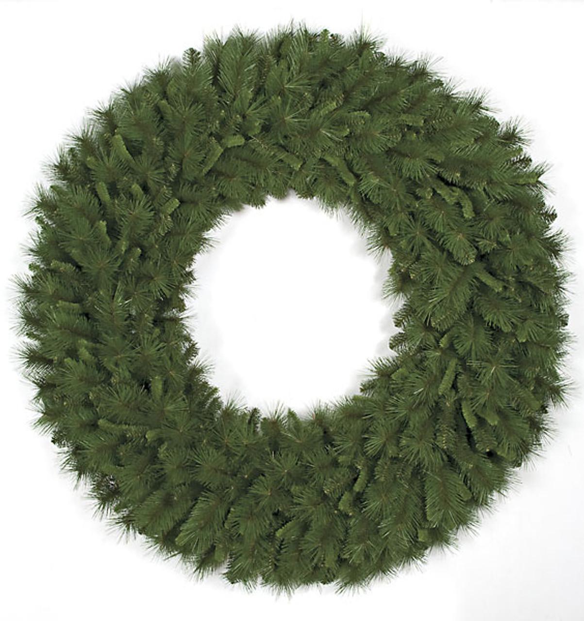 60 Inch Pvc Mixed Pine Wreath Autograph Foliages