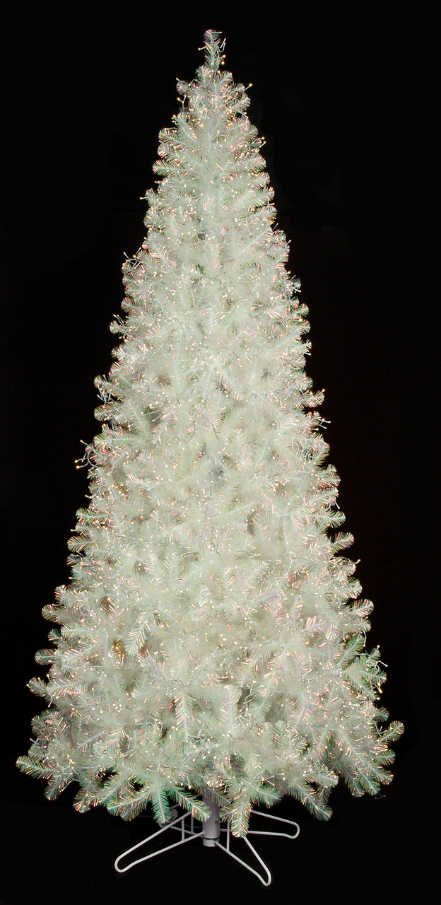 15 Ft Christmas Tree.7 Ft 9 Ft 12 Ft 15 Ft Lighted Iridescent Tree With 8