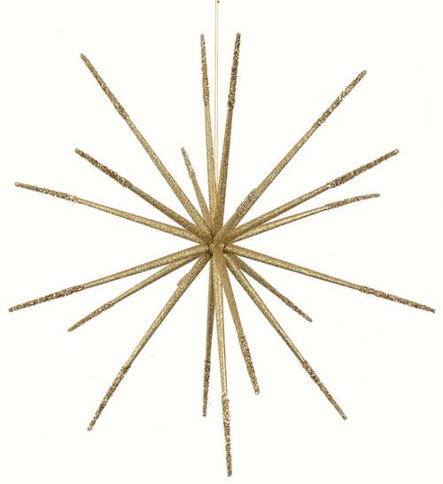 """J-14025022"""" Glittered Star Gold"""