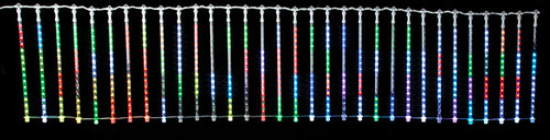 117 x 24 Inch Light Screen w/Rod & Hooks 