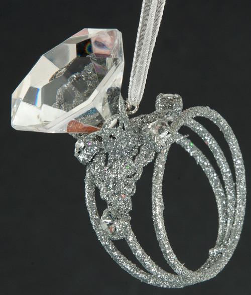 Acrylic Napkin Ring Closeup